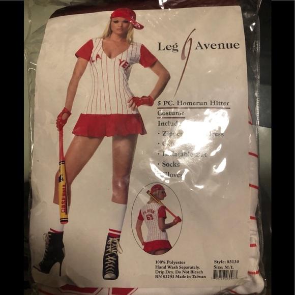 Sexy Baseball costume